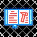 Law Book Color Icon
