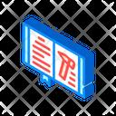 Law Book Isometric Icon