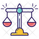 Balance Scale Law Scale Measuring Scale Icon