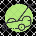 Lawn Mower Grass Icon