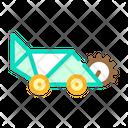 Lawn Mower Color Icon