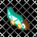 Lawn Mower Isometric Icon