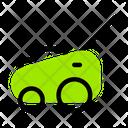 Lawn Cutter Lawn Cutting Vehicle Gardening Icon