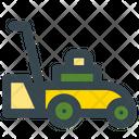 Lawn Mower Grass Cutter Gardening Icon
