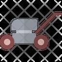 Farming Gardening Mower Icon