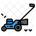 Mowing Lawn Mower Machine Icon