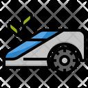 Lawn Mower Robot Icon