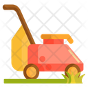 Lawn Mower Grass Mower Lawn Tractor Icon