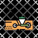 Gardening Machine Color Icon