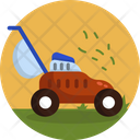 Grass Cutter Lawn Mower Lawnmower Icon