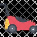 Lawn Mower Gardening Mower Icon