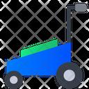 Lawn Mower Grass Cutter Lawn Mower Machine Icon