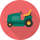 Lawnmower Car Vehicle Icon