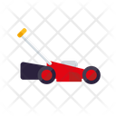 Lawnmower Equipment Garden Icon