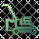 Lawnmower Machine Grass Icon