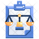 Lawsuit Justic Law Icon
