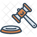 Lawsuit Legal Action Proceedings Icon