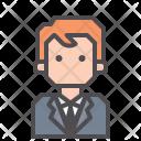 Lawyer Employee Corporate Icon