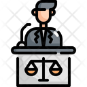 Lawyer Law Justice Icon