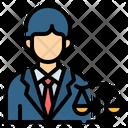 Lawyer Attorney Law Icon