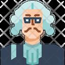 Occupation Avatar Lawyer Icon