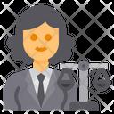 Lawyer Avatar Occupation Icon
