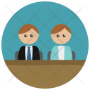 Lawyer Client Icon