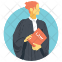 Lawyer Counsellor Attorney Icon