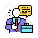 Lawyer Man Law Icon