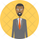 Lawyer Character Profession Icon