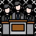 Lawyer Advocacy Occupation Profession Job Icon