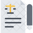 Lawyer Contact Icon