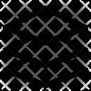 Layer Shape Design Icon