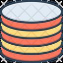 Layer Flake Stratum Icon