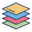 Layer Stack Paper Stackgraphic Tool Icon