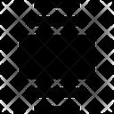 Layer Centers Layer Arrange Icon