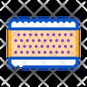 Layered Mattress Icon