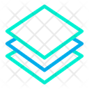 Layer Multiple Layers Leval Icon
