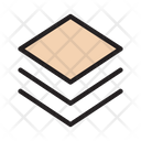 Slides Layers Design Icon