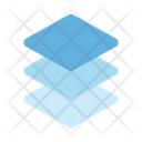 Stack Layer Paper Icon