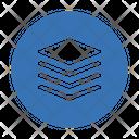 Layers Sheet Design Icon