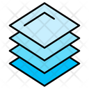 Layers Stack Graphic Editor Icon
