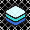 Layers Stack Design Icon
