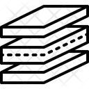 Layers Flake Stratum Icon