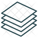 Layers Domains Enterprise Icon