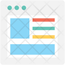 Layout Template Design Icon