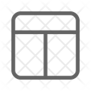 Layout Grid Guide Icon