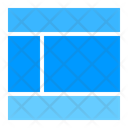 Layout Cloud Network Icon