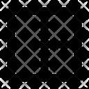 Layout Grid Sidebar Icon