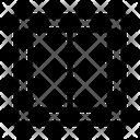 Layout Design Column Icon